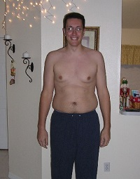 Bob Sharpe P90X Before