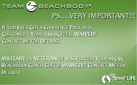 beachbody coach costs important