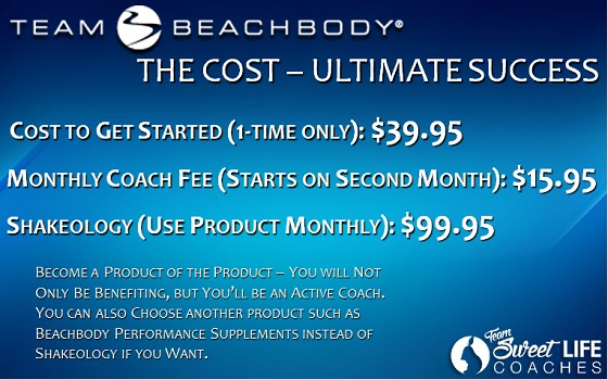 beachbody coach costs ultimate
