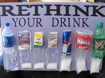 How many grams of sugar in soda