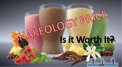 shakeology price