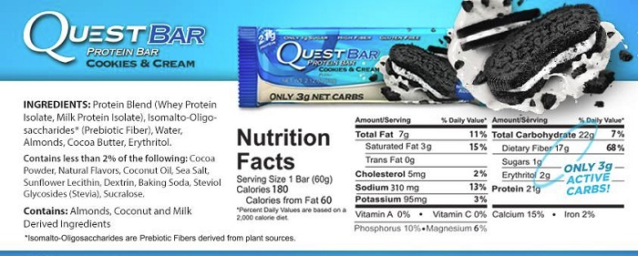Quest bar review total gimmick or totally worth it for Muscle food quest bar