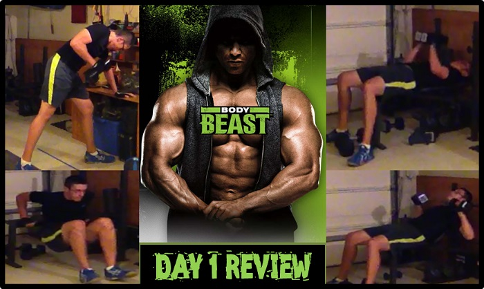 Body Beast Day 1 Build Chest Tris