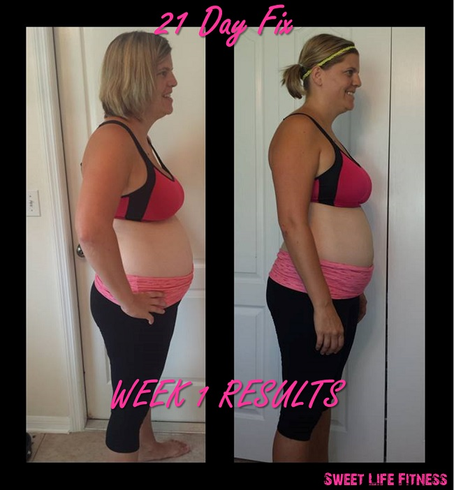 21 Day Fix Week 1 Review
