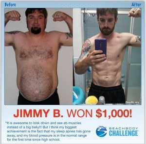 Beachbody Challenge Winner Jimmy