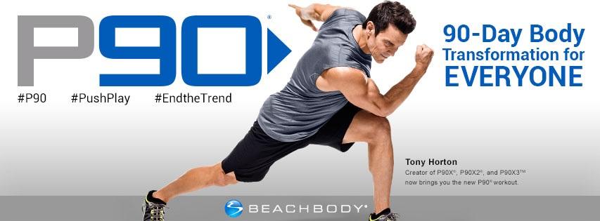 P90 Workout Review  P90 Beachbody Logo