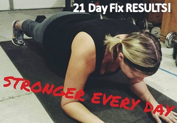 21 Day Fix Results Header