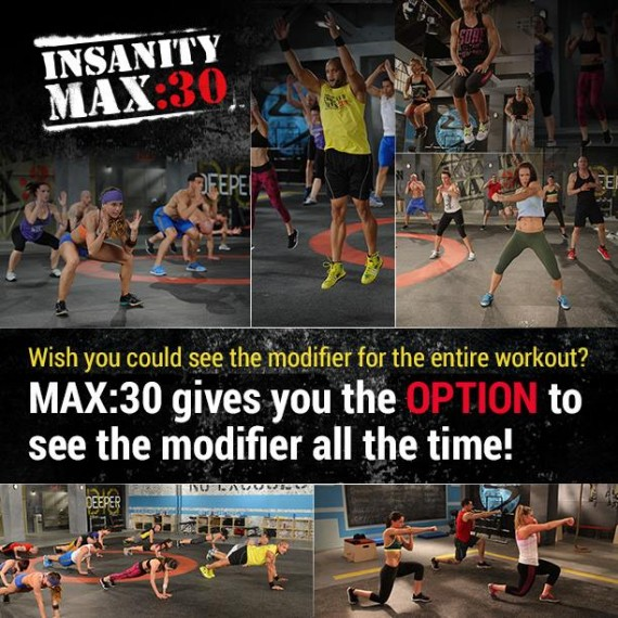 New INSANITY Max 30 Workout