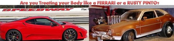 Fitness like a Ferrari