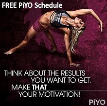 PiYo Schedule
