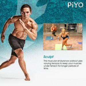 PiYo Schedule Sculpt