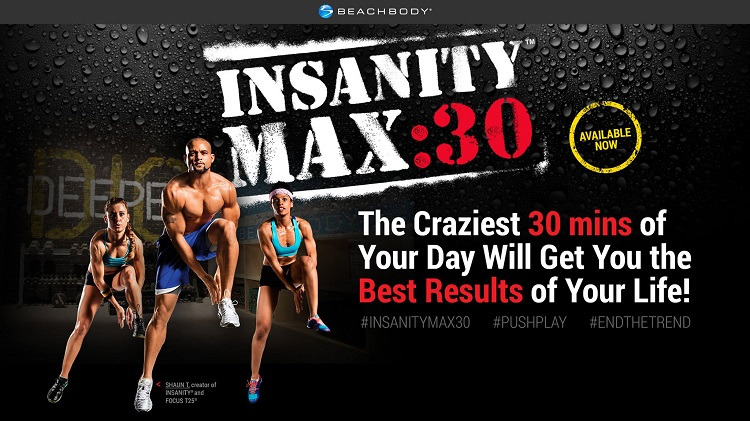INSANITY Max 30 UK