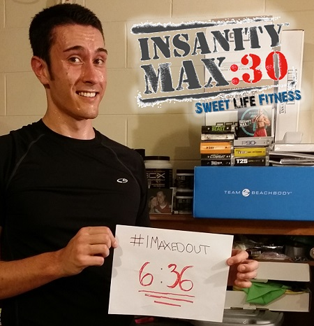 INSANITY Max 30 Day 1