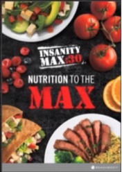 INSANITY Max 30 Nutrition Plan