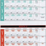 INSANITY Max 30 Calendar and Schedule