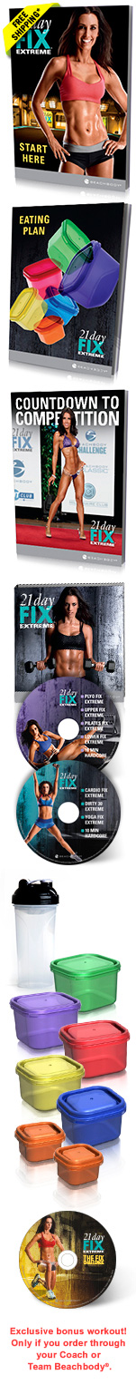21 Day Fix Extreme Essential Package
