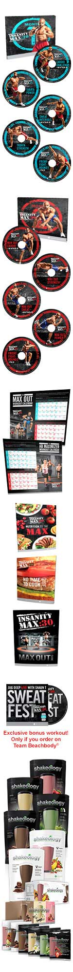 Insanity Max 30 Challenge Pack