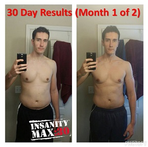 INSANITY max 30 results 30 days