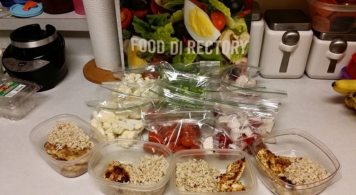 meal prep for 21 day fix
