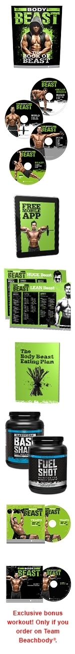 Body Beast Deluxe Package