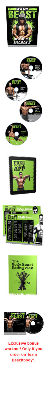 Body Beast DVD package