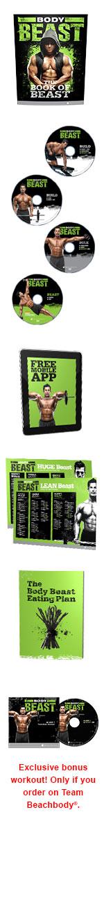 Body Beast DVD package