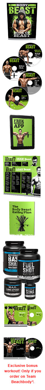 Body Beast Ultimate Package