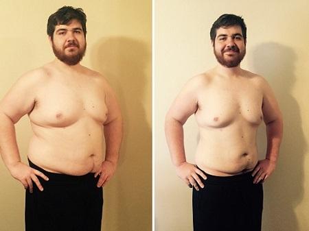 P90X Transformation Brian