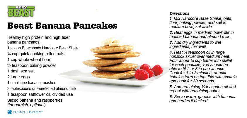Beast Banana Pancakes