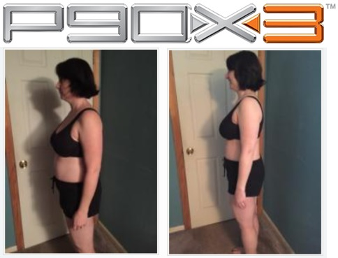 jenn P90X3 women results