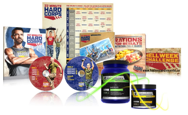 22 minute hard corps performance pack