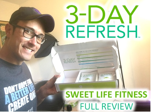 3 Day Refresh Review