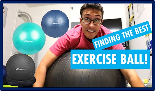 Trideer exercise ball review
