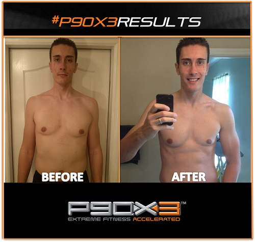 P90X3 Results Helped me Lose Weight in 90 Days