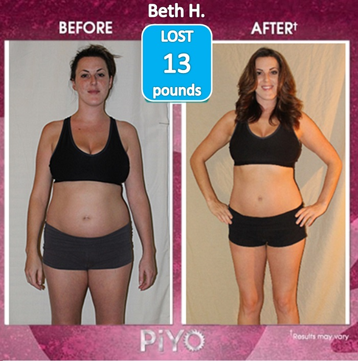 Piyo Results 13 Pounds Lost And 4 Inches Gone